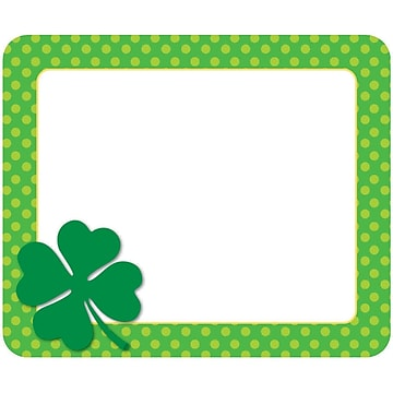 Carson-Dellosa St. Patrick's Day Name Tags, 40/Pack (CD-150056)