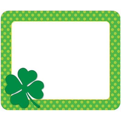 Carson-Dellosa St. Patrick's Day Name Tags, 40 Per Pack, Bundle of 6 Packs (CD-150056)