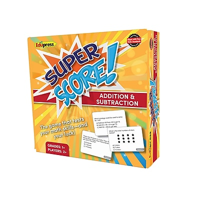 Teacher Created Resources Super Score Game Addition/Subtraction, Grades 1-2 (EP-2080)
