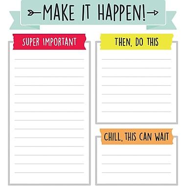 Aim High Notepad, 50 Sheets Per Pad, Bundle of 6