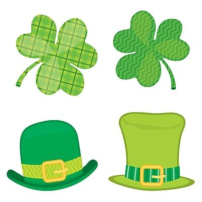 Carson-Dellosa St. Patrick's Day Mini Colorful Cut-Outs, 32/Pack (CD-120223)