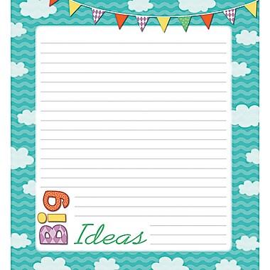 Up and Away Notepad, 50 Sheets Per Pad, Bundle of 6
