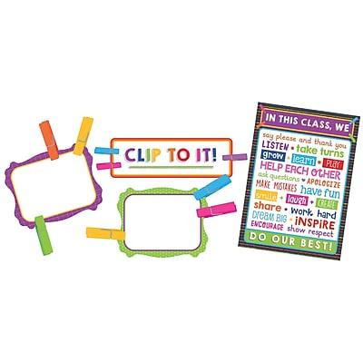 Carson-Dellosa Clip Chart Classroom Management, Bulletin Board Set (CD-110352)