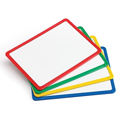 Learning Advantage Plastic Framed Metal Whiteboards, Set of 4 (CTU90564) 2659618