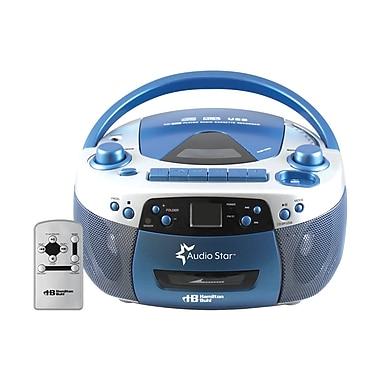 HamiltonBuhl - Chaîne stéréo avec radio, lecteur de CD/cassette/USB et convertisseur de CD à MP3 (HEC5050ULTRA)