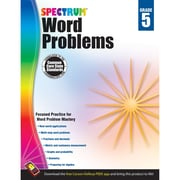 Carson-Dellosa Spectrum Word Problems Workbook, Grade 5 (CD-704491)