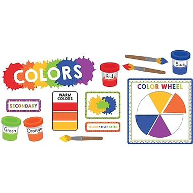 Carson-Dellosa Colors, Bulletin Board Set (CD-110350)