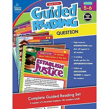 Carson-Dellosa Guided Reading: Question, Grade 5-6 (CD-104931)