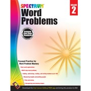 Carson-Dellosa Spectrum® Word Problems Workbook, Grade 2 (CD-704495)