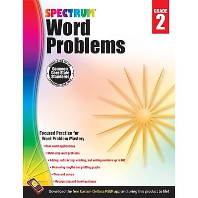 Carson-Dellosa Spectrum® Word Problems Workbook, Grade 2 (CD-704495)