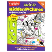 Highlights Favorite Hidden Pictures - Outdoor Puzzles (ELP091788)