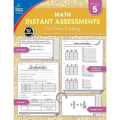 Carson-Dellosa Instant Assessments for Data Tracking, Grade 5 (CD-104939)