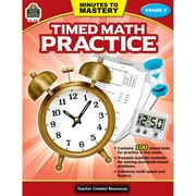 Teacher Created Resources Minutes to Mastery - Timed Math Practice Grade 2 (TCR8081)