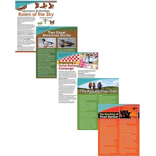 Teacher Created Resources Exploring Nonfiction Cards, Grade 5 (EP-3684)