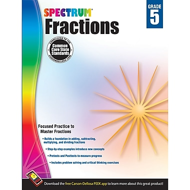 Carson-Dellosa Spectrum® Fractions, Grade 5 (CD-704511)
