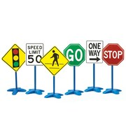 Learning Advantage Traffic Signs, Set of 6 (CTU69110)