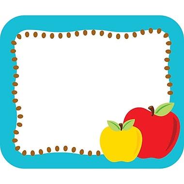Carson-Dellosa Apples Name Tags, 40 Per Pack, Bundle of 6 Packs (CD-150052)