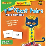 Teacher Created Resources Pete the Cat Purrfect Pairs Game: Word Families (EP-3532)
