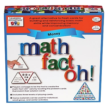 Learning Advantage Math-Fact-Oh!™ Money Game (CTU2178)