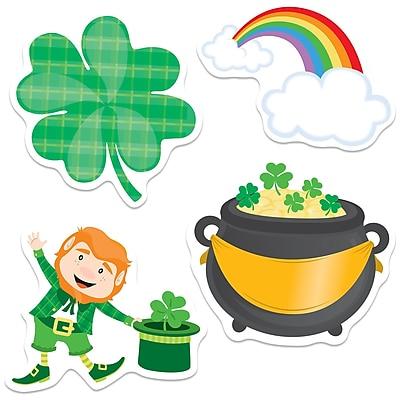 Carson-Dellosa St. Patrick's Day Colorful Cut-Outs, 36/Pack (CD-120222)