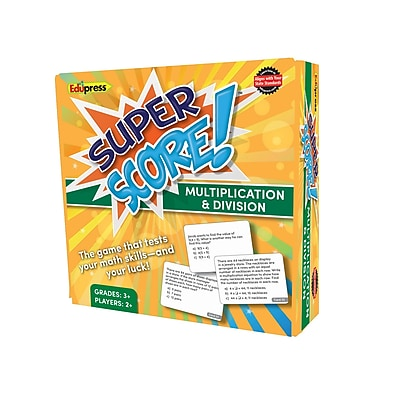 Teacher Created Resources Super Score Game, Multiplication/Division, Grades 3-4 (EP-2081)