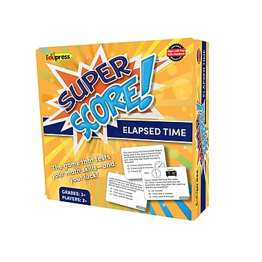 Teacher Created Resources Super Score Game, Elapsed Time, Grade 3+ (EP-2082)