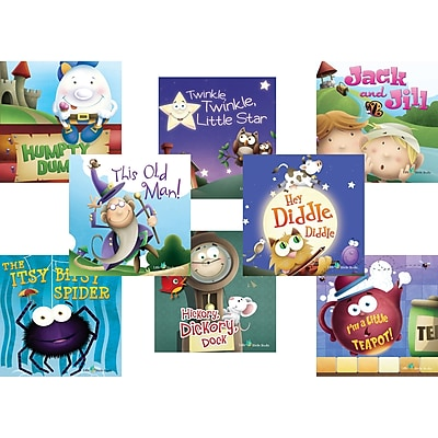Teacher Created Resources Nursey Rhymes Set of 8 Titles (TCR693673)