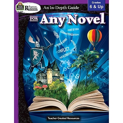 Teacher Created Resources Rigorous Reading: An In-Depth Guide for Any Novel Grade 6-Up (TCR2973)