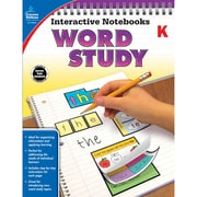 Carson-Dellosa Interactive Notebooks: Word Study Resource Book, Kindergarten (CD-104946)
