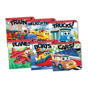 Teacher Created Resources Big Busy Machines, Set of 6 Titles (TCR418723)