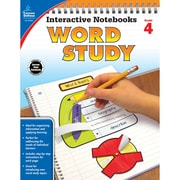 Carson-Dellosa Interactive Notebooks: Word Study Resource Book, Grade 4 (CD-104950)