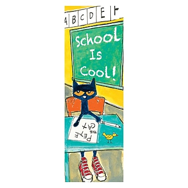 Teacher Created Resources Pete the Cat School is Cool Bookmarks, 36 Per Pack, Bundle of 3 Packs (EP-2689)