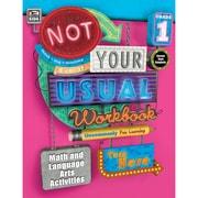 Carson-Dellosa Not Your Usual Workbook, Grade 1 (CD-704721)