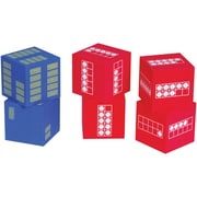 Learning Advantage Ten Frame Foam Dice, Set of 6 (CTU7297)