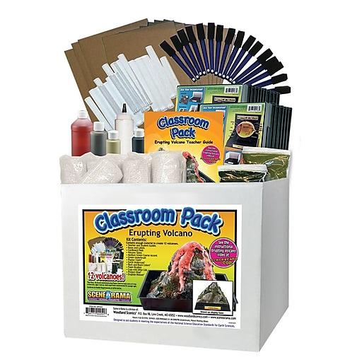 Scene-A-Rama® Erupting Volcano Classroom Pack™ (SP-4251)