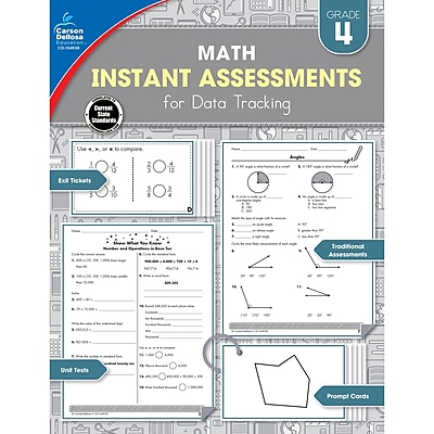 Carson-Dellosa Instant Assessments for Data Tracking, Grade 4 (CD-104938)