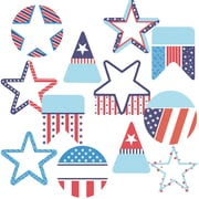 Carson-Dellosa Stars and Stripes Colorful Cut-Outs, 39/Pack (CD-120220)