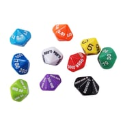 Learning Advantage Place Value and Decimal Dice, Set of 10 (CTU7309)