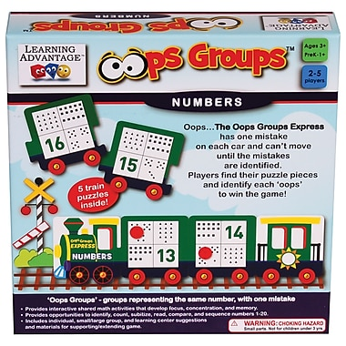 Learning Advantage Oops Groups™ Numbers Game (CTU2136)