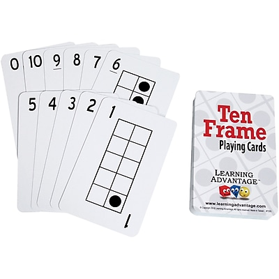 Learning Advantage Ten Frames Playing Cards (CTU7293)