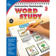 Carson-Dellosa Interactive Notebooks: Word Study Resource Book, Grade 2 (CD-104948)