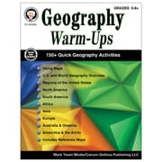 Carson-Dellosa Geography Warm-Ups Resource Book, Grades 5-8 (CD-404263)