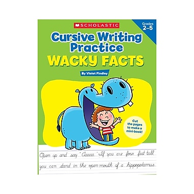Scholastic Cursive Writing Practice: Wacky Facts (SC-594317)