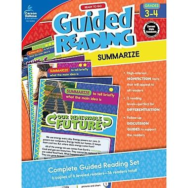 Carson-Dellosa Guided Reading: Summarize, Grades 3-4 (CD-104933)