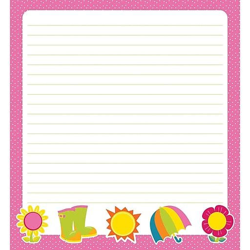 Hello Spring Notepad, 50 Sheets Per Pad