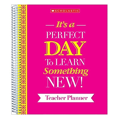 Scholastic Teacher Inspiration Planner (SC-810488)