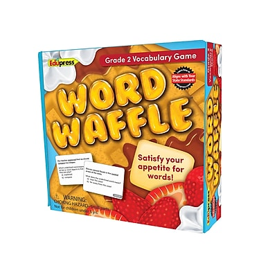Teacher Created Resources Word Waffle Game, Grade 2 (EP-2093)
