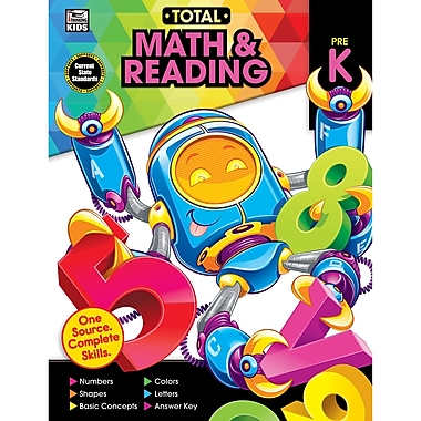 Carson-Dellosa Total Math and Reading, PreK (CD-705121)
