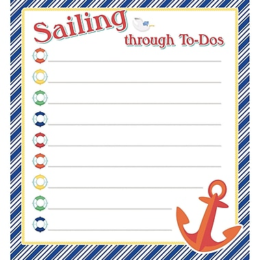 S.S. Discover Notepad, 50 Sheets Per Pad, Bundle of 6