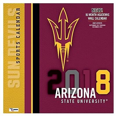 Arizona Wildcats 2018 12X12 Team Wall Calendar (18998011795)